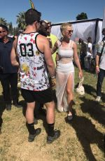 KATY PERRY at Her Easter Sunday Coachella Brunch in Thermal 04/16/2017