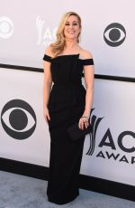 KELLIE PICKLER at 2017 Academy of Country Music Awards in Las Vegas 04/02/2017