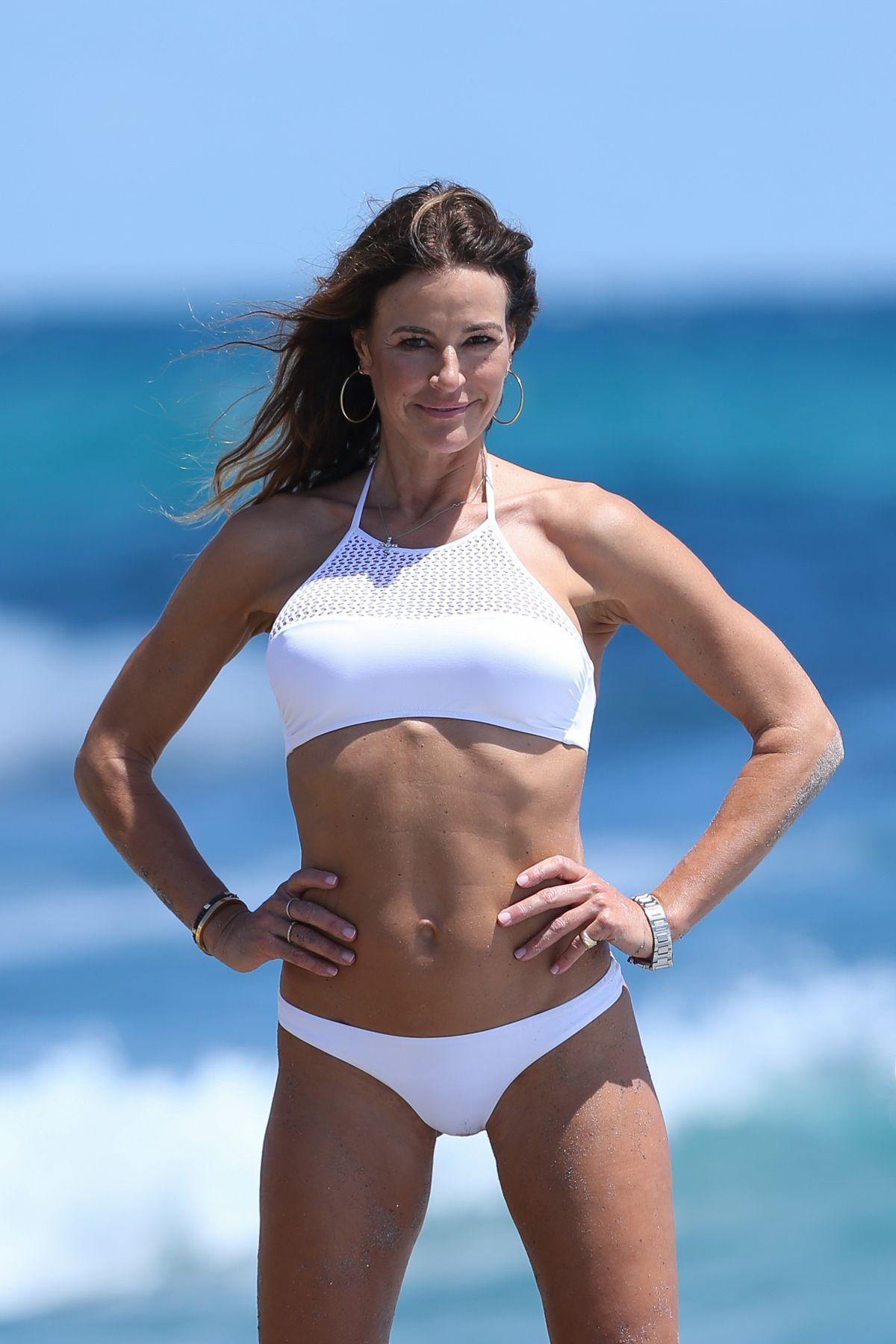 KELLY BENSIMON in Bikini at a Beach in Boca Raton 03/31/2017