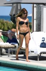 KELLY BENSIMON in Bikini at a Pool at Boca Beach Club in Boca Raton 03/31/2017
