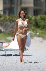 KELLY BENSIMON in Bikini on the Beach in Boca Raton 04/02/2017