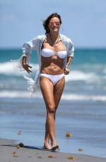 KELLY BENSIMON in White Bikini at a Beach in Boca Raton 04/01/2017