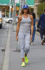 KELLY BENSIMON Leaves a Gym In New York 04/10/2017
