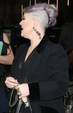 KELLY OSBOURNE Leaves Watch What Happens Live in New York 04/24/2017
