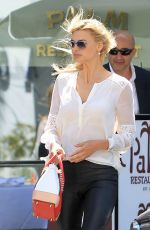 KELLY ROHRBACH at Palm Restaurant in Beverly Hills 04/19/2017