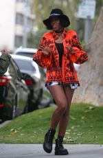 KELLY ROWLAND Out and About in Los Angeles 04/16/2017
