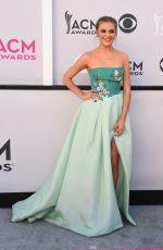 KELSEA BALLERINI at 2017 Academy of Country Music Awards in Las Vegas 04/02/2017