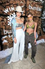 KENDALL JENNER and HAILEY BALDWIN at Winter Bumberland Party at Coachella Festival 2017 in Indio 04/15/2017