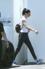 KENDALL JENNER Arrives at a Studio in Los Angeles 04/24/2017