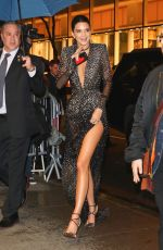 KENDALL JENNER Arrives at Rainbow Room in New York 04/19/2017