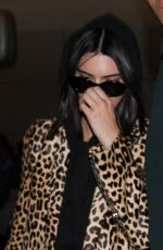 KENDALL JENNER at LAX Airport in Los Angeles 04/07/2017