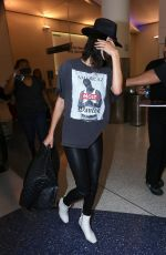 KENDALL JENNER at LAX Airport in Los Angeles 04/29/2017