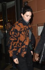 KENDALL JENNER Leaves C Restaurant in Mayfair 04/05/2017
