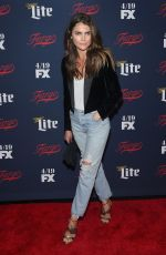 KERI RUSSELL at FX Network 2017 All-star Upfront in New York 04/06/2017