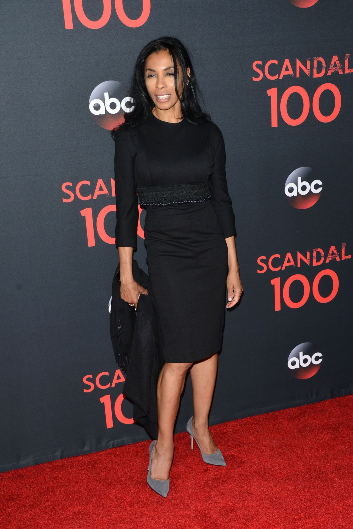 KHANDI ALEXANDER at Scandal 100th Episode Celebration in Los Angeles 04/08/2017