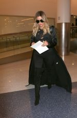KHLOE KARDASHIAN at Los Angeles International Airport 04/28/2017