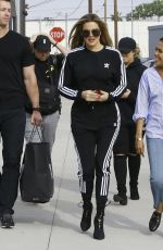 KHLOE KARDASHIAN on the Set of Her TV Show in Culver City 04/06/2017