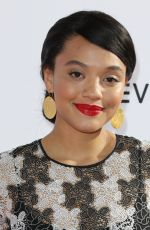 KIERSEY CLEMONS at Daily Front Row's 3rd Annual Fashion Los Angeles Awards 04/02/2017