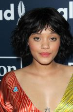 KIERSEY CLEMONS t 2017 Glaad Media Awards in Los Angeles 04/01/2017