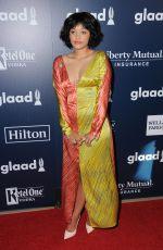 KIERSEY CLEMONS t 2017 Glaad Media Awards in Los Angeles 04/01/2017