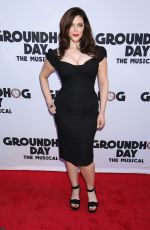 KIM DIRECTOR at Groundhog Day Broadway Opening Night in New York 04/17/2017