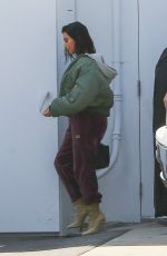 KIM KARDASHIAN Arrives at a Studio in Los Angeles 04/03/2017
