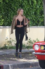 KIMBERLEY GARNER Out and About in Los Angeles 04/18/2017