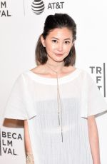 KIMIKO GLENN at The Handmaid's Tale Premiere at 2017 Tribeca Film Festival in New York 04/21/2017