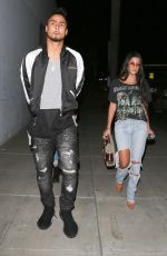 KOURTNEY KARDASHIAN and Quincy Brown Leaves Craig