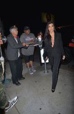 KOURTNEY KARDASHIAN Arrives at Catch LA in Los Angeles 04/12/2017