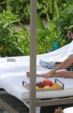 KOURTNEY KARDASHIAN in Bikini on Vacation in Hawaii 04/03/2017