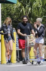 KRISTEN STEWART and STELLA MAXWEL in Shorts Out in New Orleans 04/09/2017