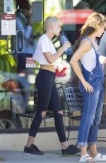 KRISTEN STEWART Out and About in New Orleans 04/20/2017