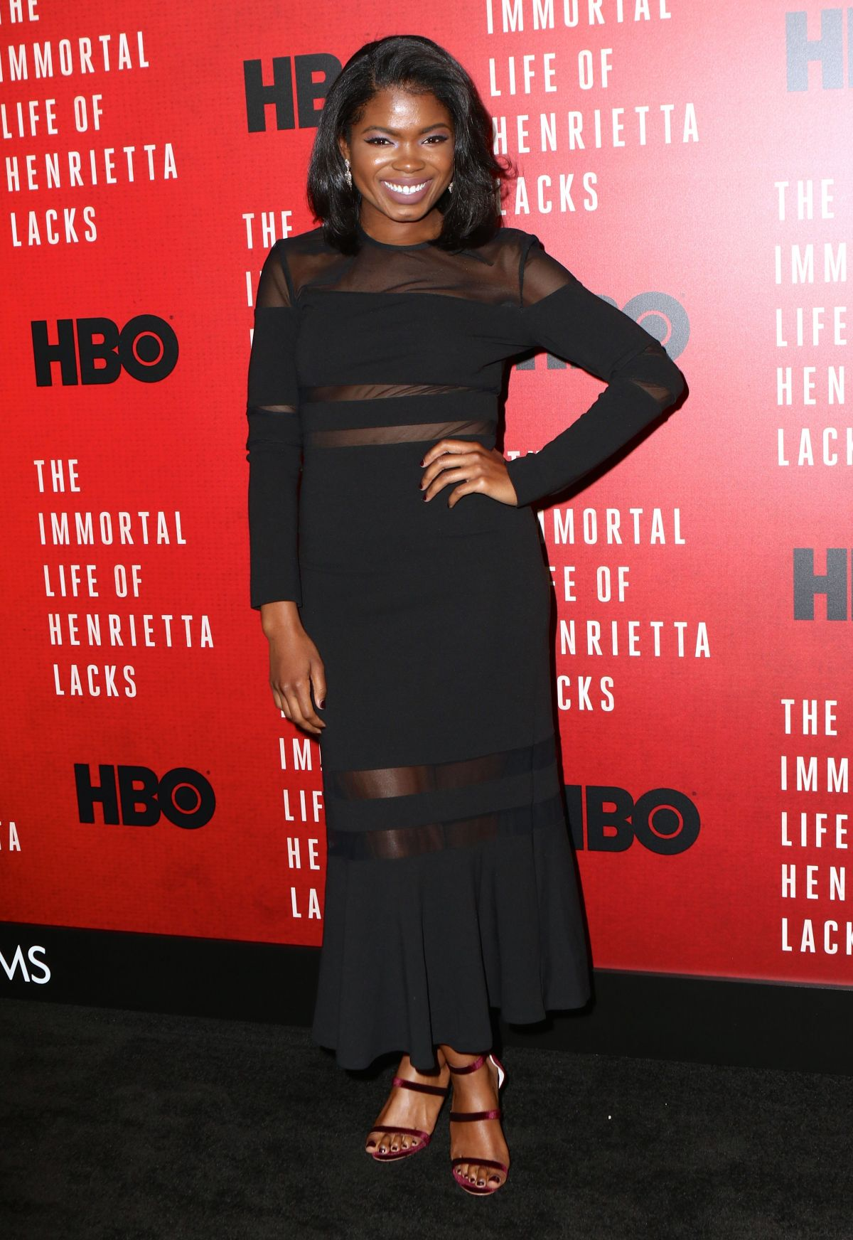 KYANNA SIMONE at The Immortal Life of Henrietta Lacks Screening in New York 04/18/2017
