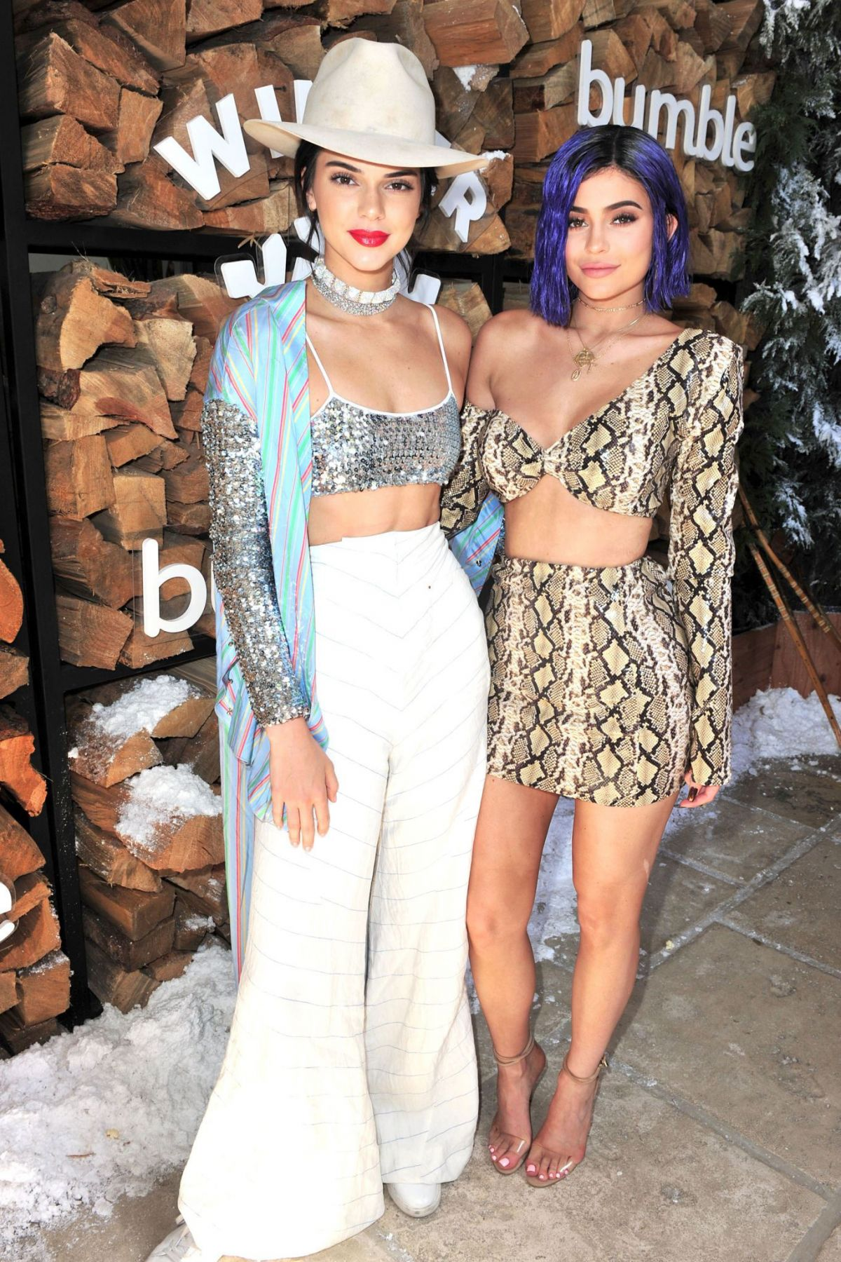 KYLIE and KENDALL JENNER at Winter Bumberland Party at Coachella 2017 in Indio 04/15/2017