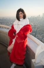 KYLIE JENNER and Tyga at Empire State Building in New York 02/14/2017