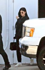 KYLIE JENNER Arrives at a Studio in Los Angeles 04/03/2017