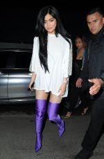 KYLIE JENNER at Pretty Little Thing Shape x Stassie Launch Party in Hollywood 04/11/2017