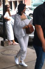 KYLIE JENNER Leaves Her Hotel in New York 04/29/2017