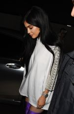 KYLIE JENNER Night Out in New York 04/11/2017