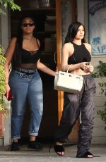 KYLIE JENNER Out and About in los Angeles 04/28/2017
