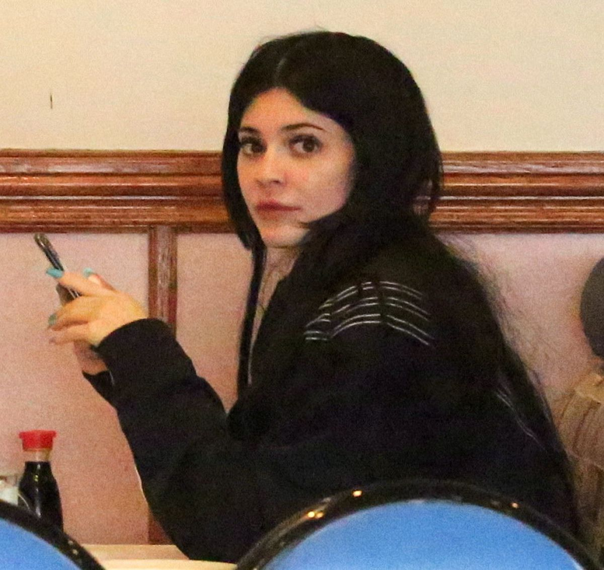 KYLIE JENNER Out for Lunch at Yang Chow Restaurant in Los Angeles 03/04/2017