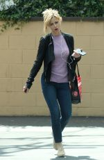 KYRA SEDGWICK Out Shopping in Los Feliz 04/10/2017