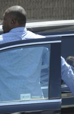 LADY GAGA Arrives at a Doctor