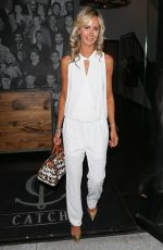 LADY VICTORIA HERVEY at Catch LA Restaurant in Los Angeles 04/21/2017