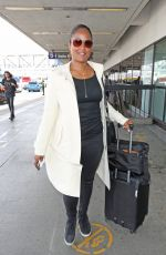 LAILA ALI at LAX Airport in Los Angeles 04/24/2017