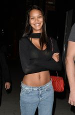 LAIS RIBEIRO at TAO Beauty & Essex in Hollywood 04/12/2017