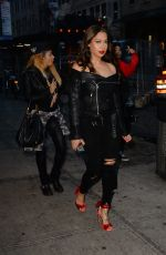 LALA ANTHONY Night Out in New York 04/28/2017