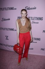 LARSEN THOMPSON at Pretty Little Thing Shape x Stassie Launch Party in Hollywood 04/11/2017