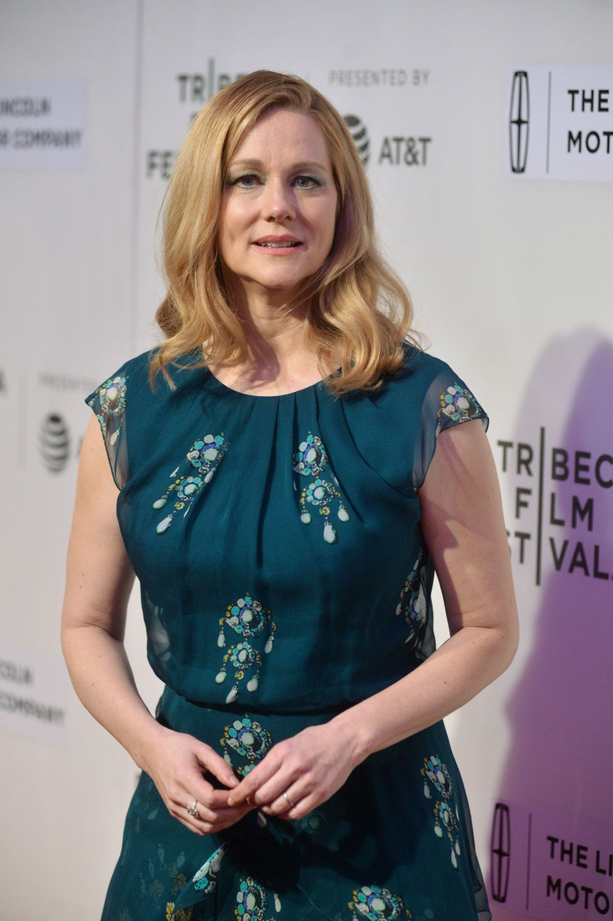 LAURA LINNEY at The Dinner Premiere at 2017 Tribeca Film Festival 04/24/2017